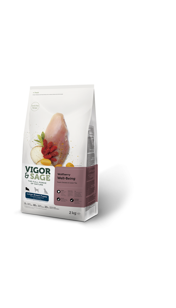 Wolfberry Well-Being - Large Breed Puppy food
