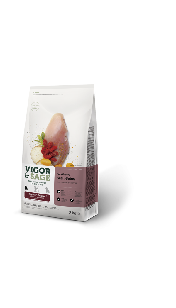 Puppy Food Wolfberry Well-Being Regular Size