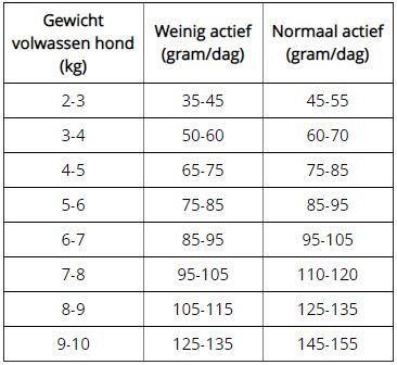hondenvoer voor volwassen grote honden Ginseng Well-Being