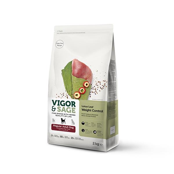 Lotus Leaf Weight Control  Regular Adult Complete Dog Food
